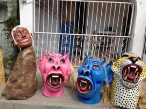 Jacmel, papier mache, carnival