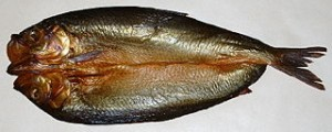 Smoked herring or aran fume in kreyol
