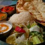 Indian cooking, thali