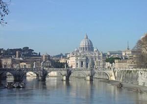 Italy, Rome. Mario Monti, marines, India