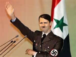 'OpEd News' presents Bashar Assad as a 21st century Hitler