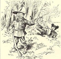 The Washington Post cartoon that inspired 'Teddy's Bear'
