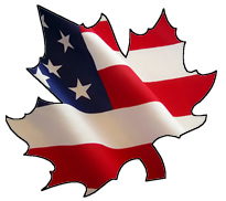 american-and-canadian-flag