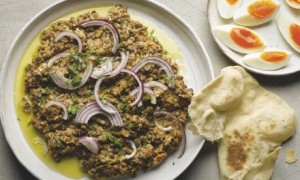 Yotam Ottolenghi's crushed puy lentils with tahini and cumin