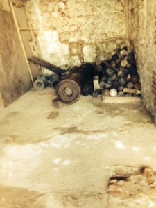 The Citadelle is still littered with cannon and cannonballs