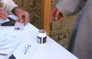 Preparing to vote
