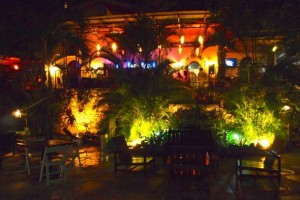 Port au Prince at night: It can get lively