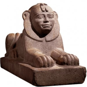 The Sphinx of Taharqa at the British Museum