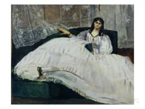 Edouard Manet's portrait of Jeanne Duval