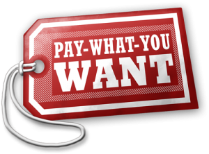 Pay-What-You-Want