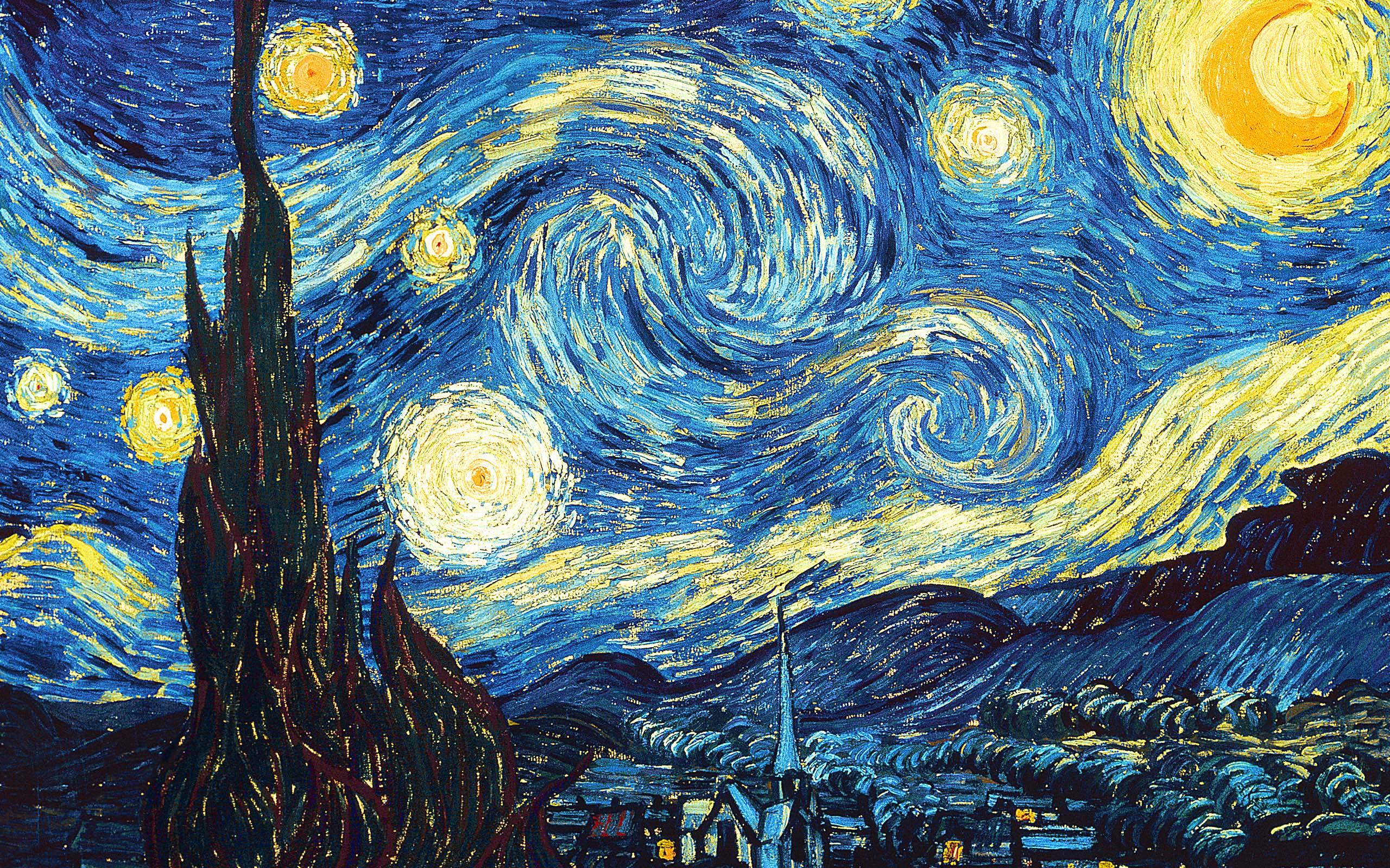 Art Van-Gogh-Starry-Nights