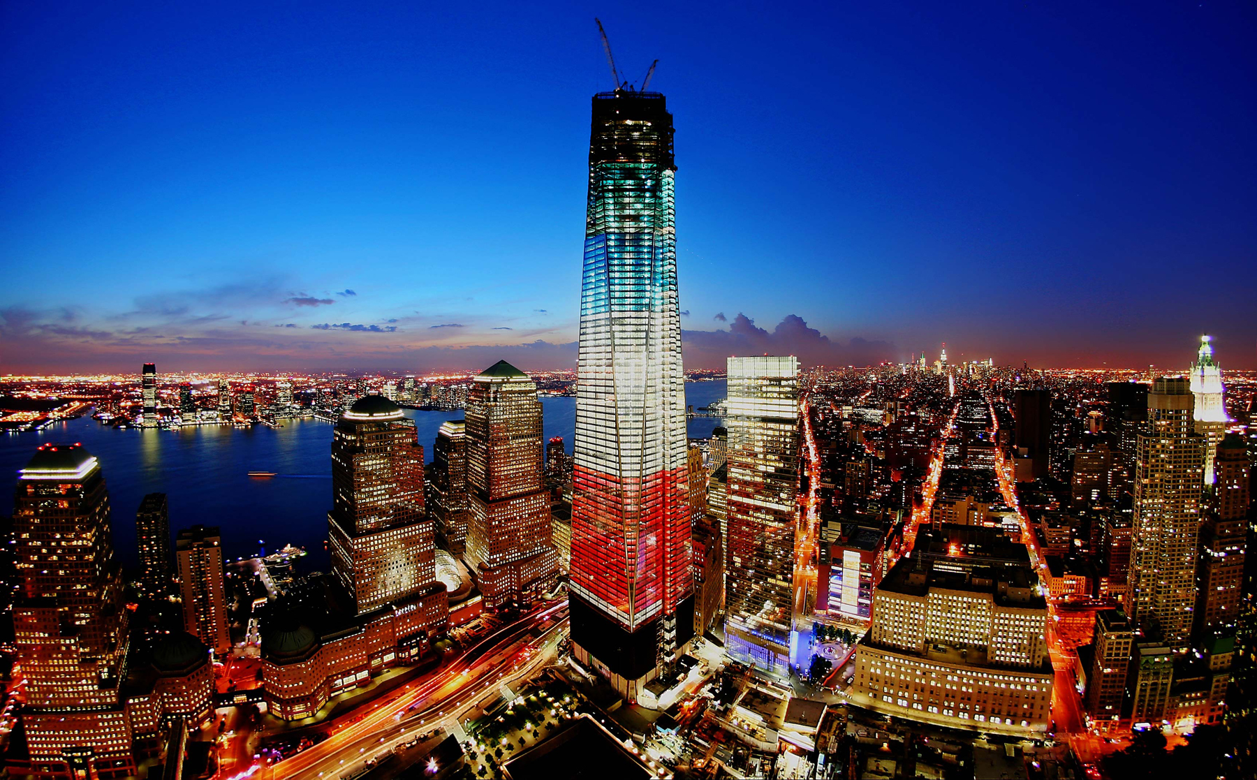 Open For Business The Freedom Tower Represents New York S Blitz