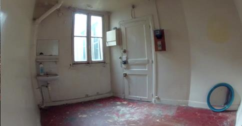 This is what the room looked like before the make-over