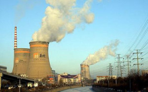 A Chinese power plant in Shenyang in the northeast province of Liaoning