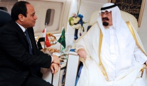President El Sisi had a good relationship with the late King Abdullah