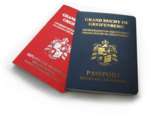 Passport of another wannabe country