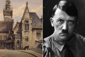 A-painting-by-Adolf-Hitler