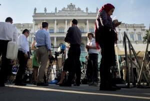 journos coevring iran talks