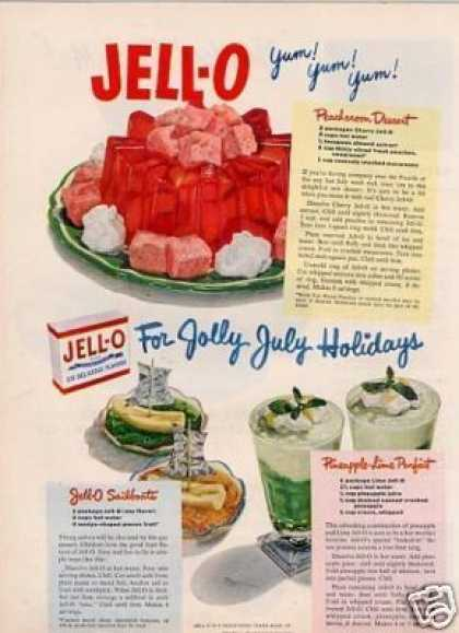 vintage jello-o ad
