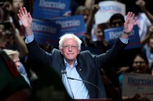Bernie Sanders campaigning in Arizona