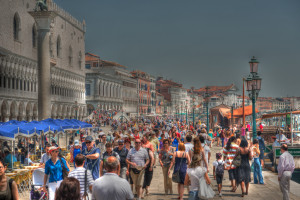 Too many tourists - in Venice?