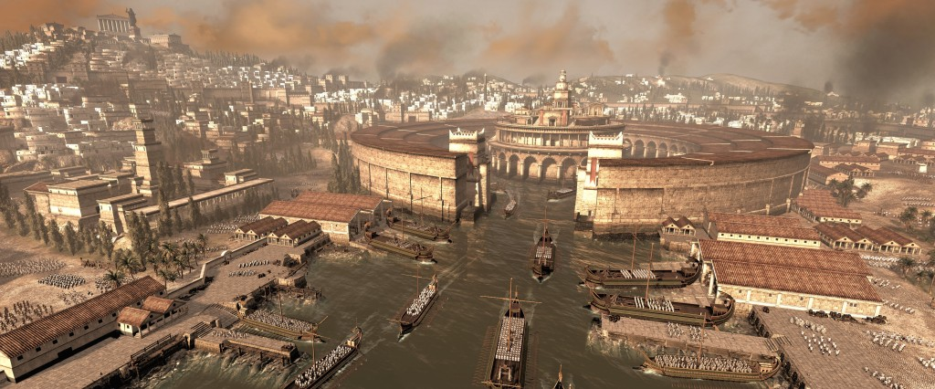 Carthage and its harbour