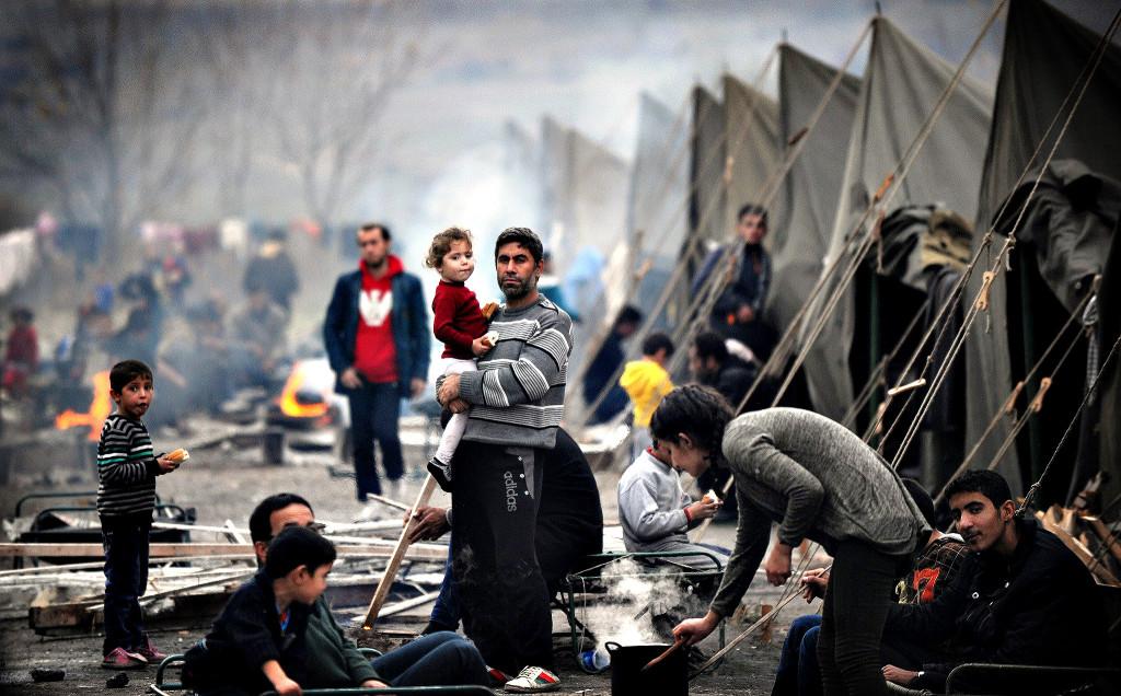 Lebanon and Jordan bear the brunt of the refugee crisis