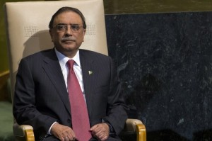 "Pakistan's former president Asif Ali Zardari lamented to the BBC that his country had suffered greatly because the US failed to release ""$50 billion"" in aid. Ray Stubblebine / Reuters"