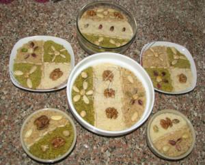Tunisians decorate this signature holiday dessert elaborately