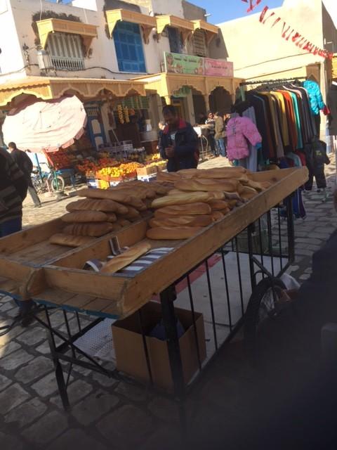 the medina bread cart