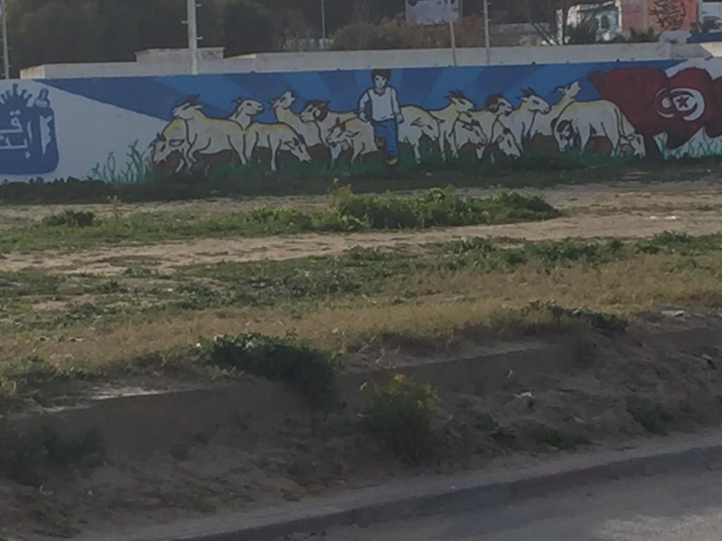 heroes build graffiti close up