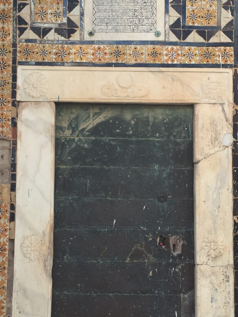 door - that leads to a mediaeval sufi shrine
