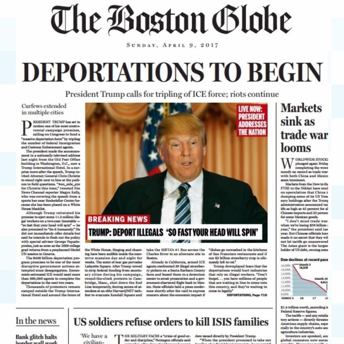 boston globe donald trump