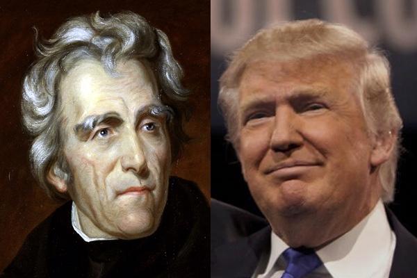 Andrew Jackson-donald trump