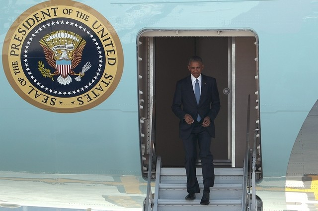 Was US president Barack Obama's visit to the G20 and Asean a sign of waning American influence? Mark Shiefelbein / AP