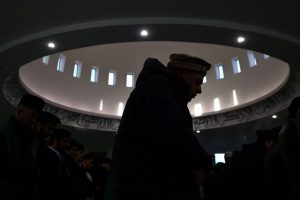 The Muslim Council of Britain will work with anyone and everyone to deliver the message of peace and tolerance. Ben Stansall / AFP