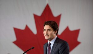 Is Canada's prime minister Justin Trudeau sitting on a powder keg of sorts?
