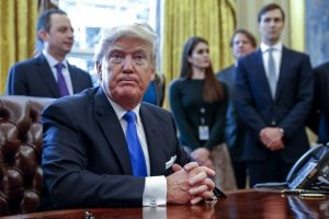 US President Donald Trump has a unique personality and an unusual way of thinking. Shawn Thew/Pool via Bloomberg News