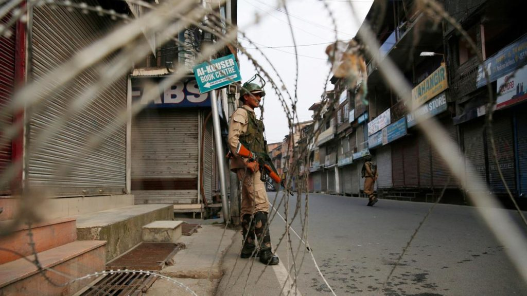 As Indian paramilitary soldiers stand guard in Srinagar, little is known about what is going on in Kashmir