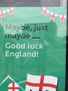 'Maybe, just maybe_ Good luck England!' Football and the art of understatement