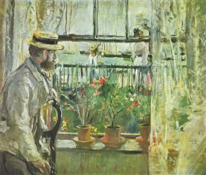 The Impressionist painter and her husband