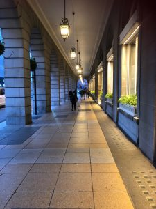 A warm, dry July evening in the heart of London: here's what it looks like