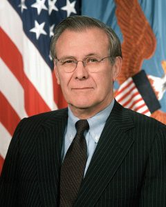 Donald Rumsfeld's epitaph was written long ago — and it's full of known knowns